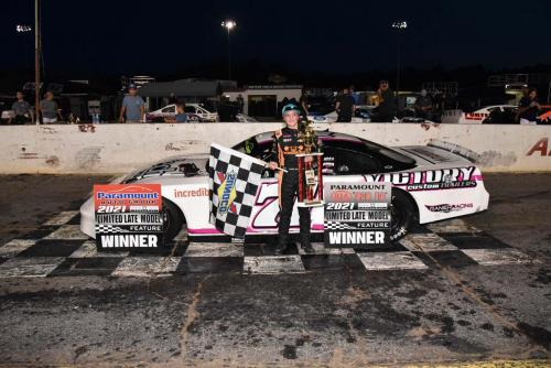First Limited Late Model win at Hickory (Sept. 4)