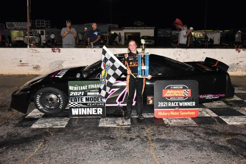 First Late Model win at Hickory (Sept. 18)